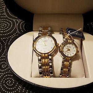 Giovanni Beverly Hills Watch set